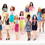Barbie nu ook met dikke billen