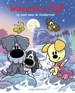 WIN het boek WOEZEL EN PIP ''Op zoek naar de Sloddervos' (winnaar bekend)