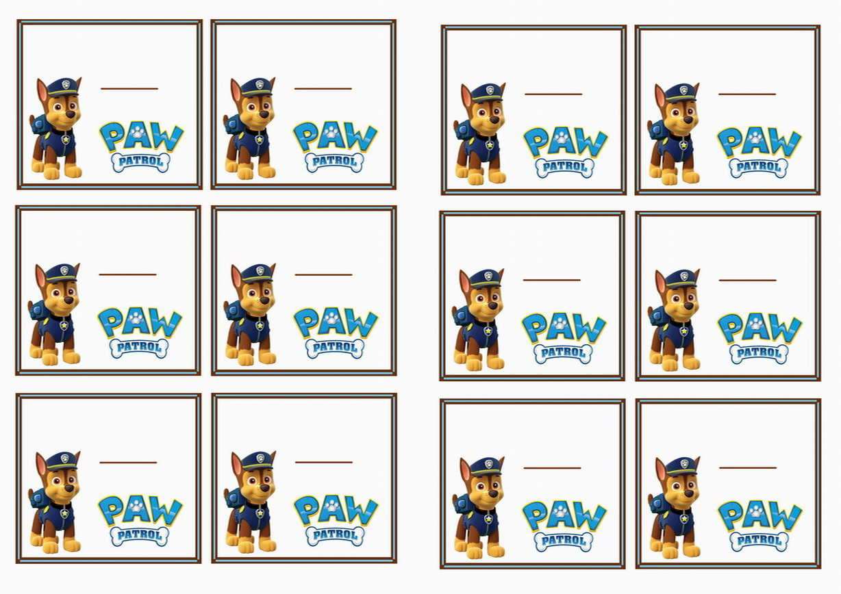 picture about Paw Patrol Printable Birthday named Paw Patrol In the direction of THE MAX, trakteer ideeën crèche