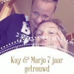 Op deze trouwdag een blog voor mijn lieve man, thema's trouwjaren