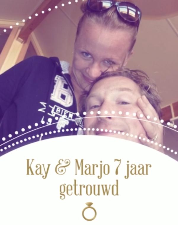 Op deze trouwdag een blog voor mijn lieve man