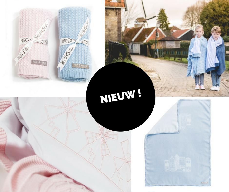Nieuw! Mats&Merthe Hollandse babydekens