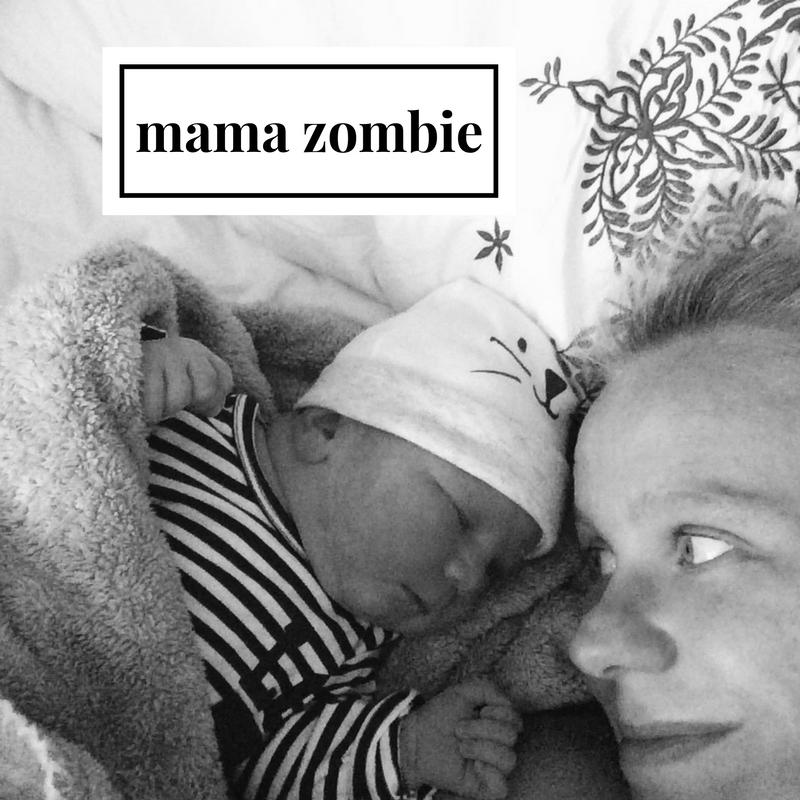 Het moederschap heeft een zombie van me gemaakt!