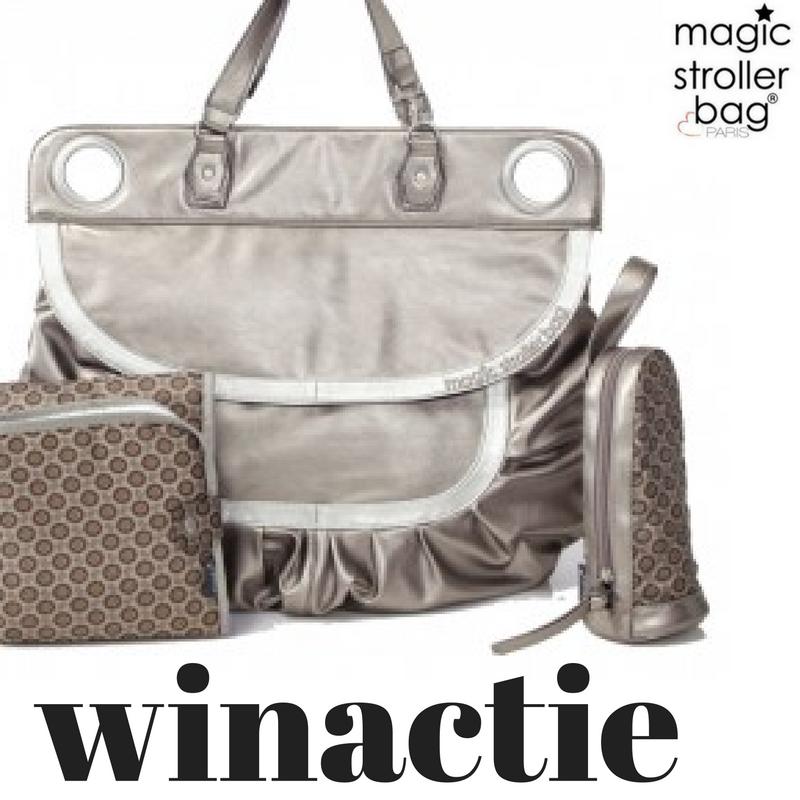De magic stroller bag (+ winactie)