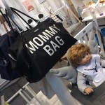 negen maanden beurs Olivette Mommy bag