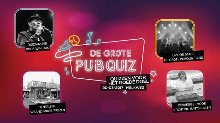 De grootste Benefiet-Pubquiz van Amsterdam, kom jij ook?