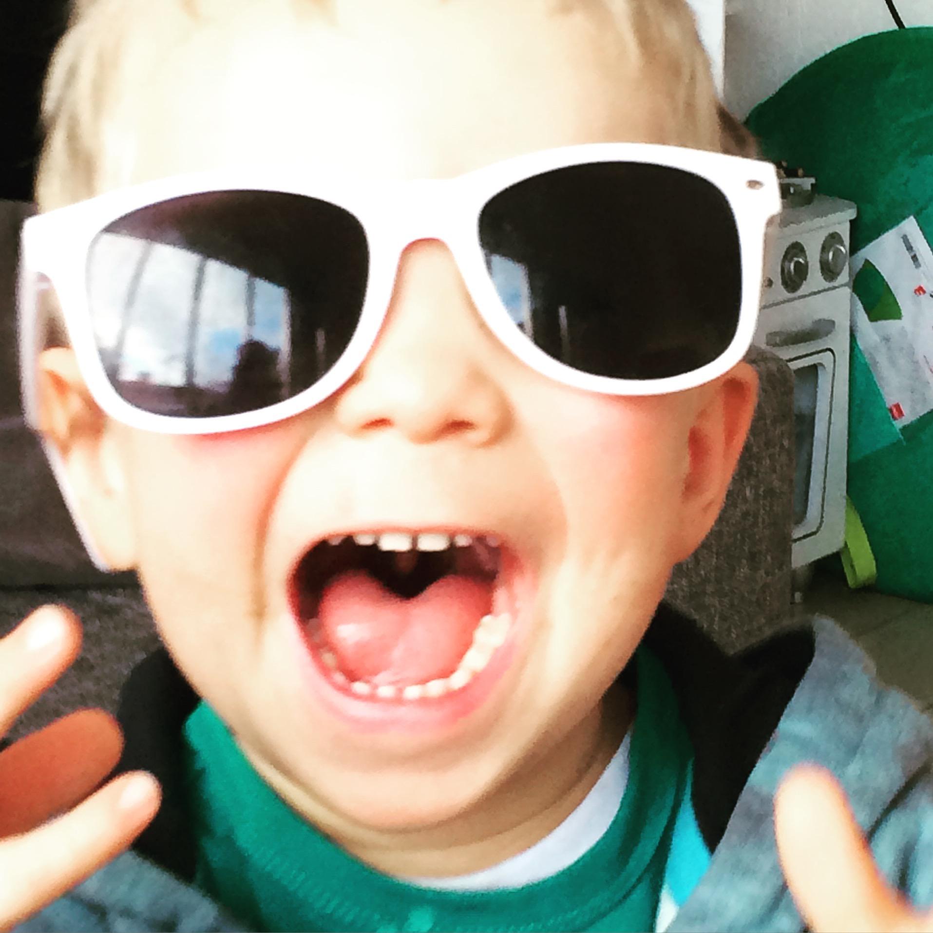 smartphone stoere bril voor naar de basisschool