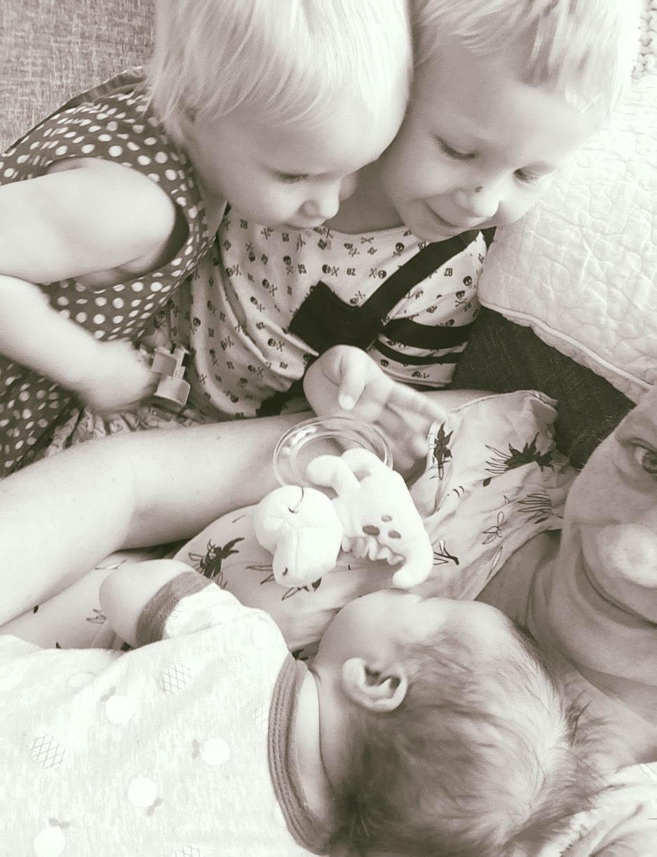 licaam na je zwangerschap drie kinderen