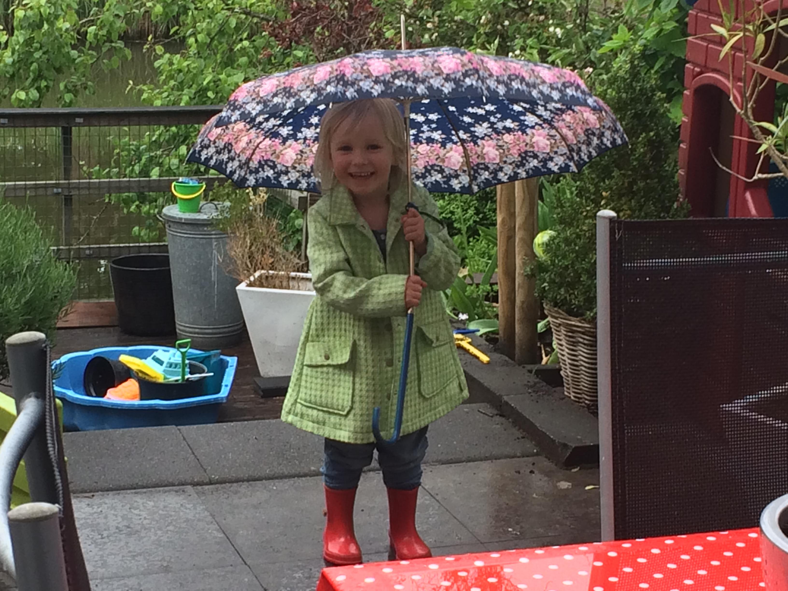 bijgeloof paraplu, thuiswerk tips