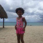 moederschap in curaçao strand