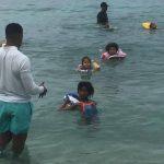 moederschap in curaçao zwemles