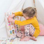 De GelukjesDag 'be-leef kalender', kleine pittoreske luikjes bomvol beleving voor klein geluk