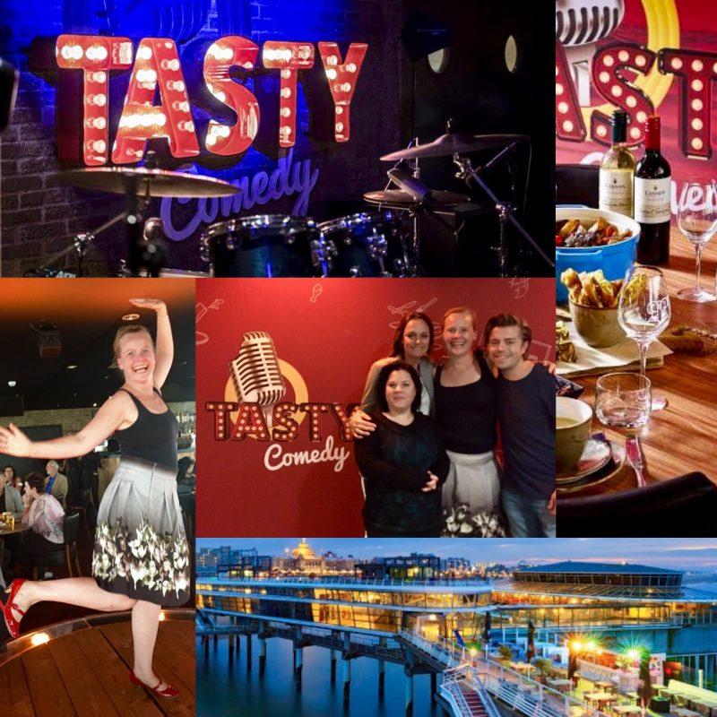 TastyComedy in Scheveningen; lachen, eten & de wereld om je heen even vergeten