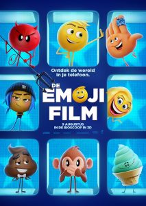 Emoji film premiere universal pictures amsterdam
