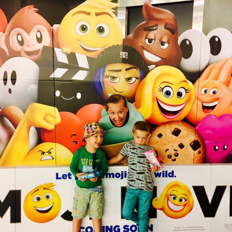 De Emoji FILM, waar mijn berichtjes tot leven komen, in Premiere