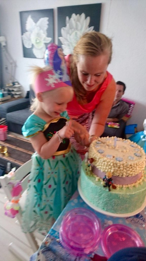 Frozen themeparty birthday