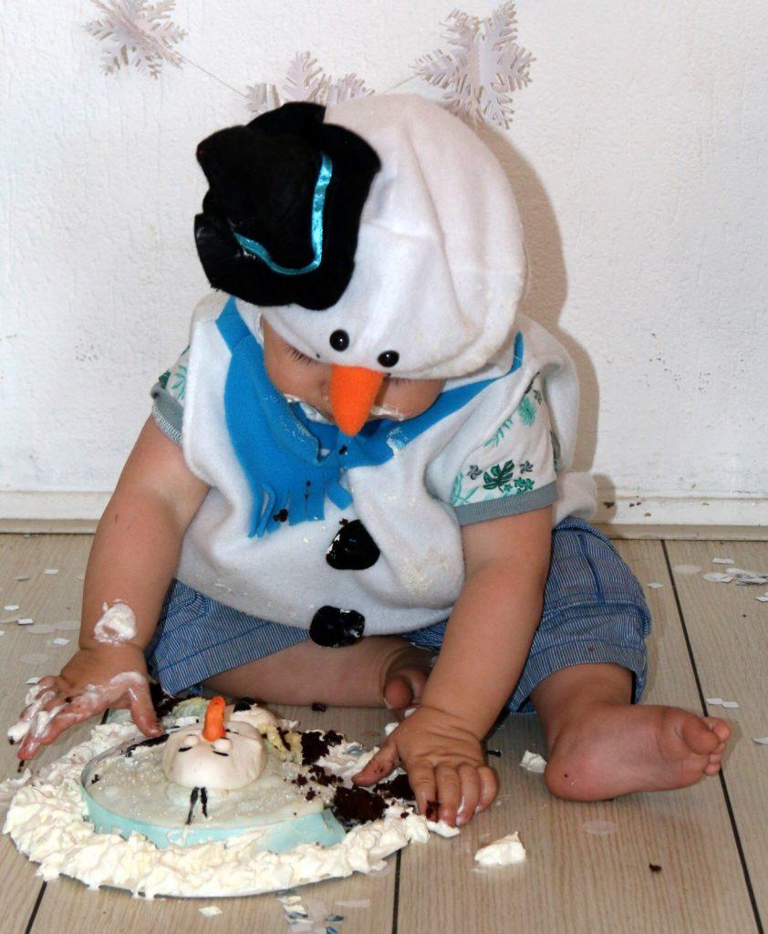 cake smash, karakter