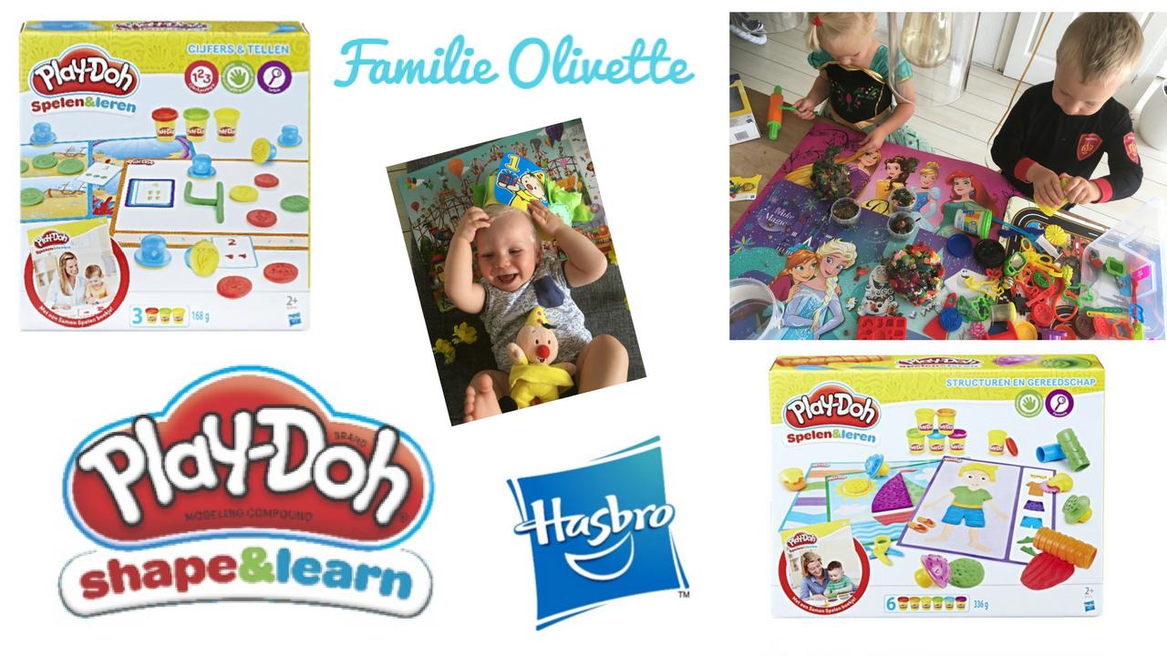 Play-Doh, wie kent het niet, altijd een grote hit bij onze kinderen