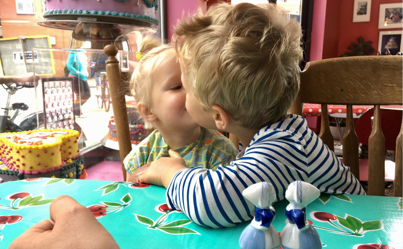 kiss and make up, vrede en harmonie binnen het gezin