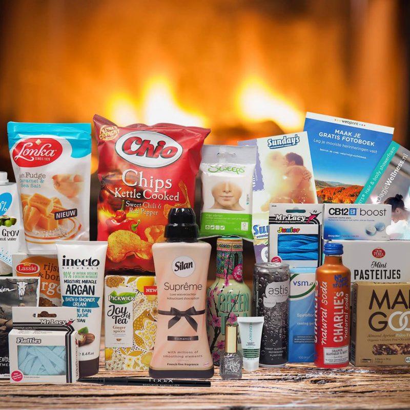 De superbox: een boodschappenpakket t.w.v ruim €200,- nu voor €19,95