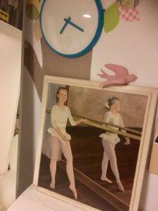 wereld ballet dag ballerina zwarte hakken