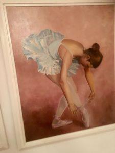 ballerina zwarte hakken
