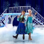 Disney on ice ana en elsa