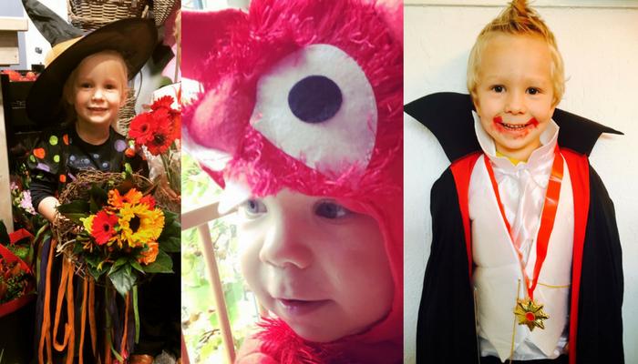 Halloween maken we dit jaar super griezelig met outfits & versieringen