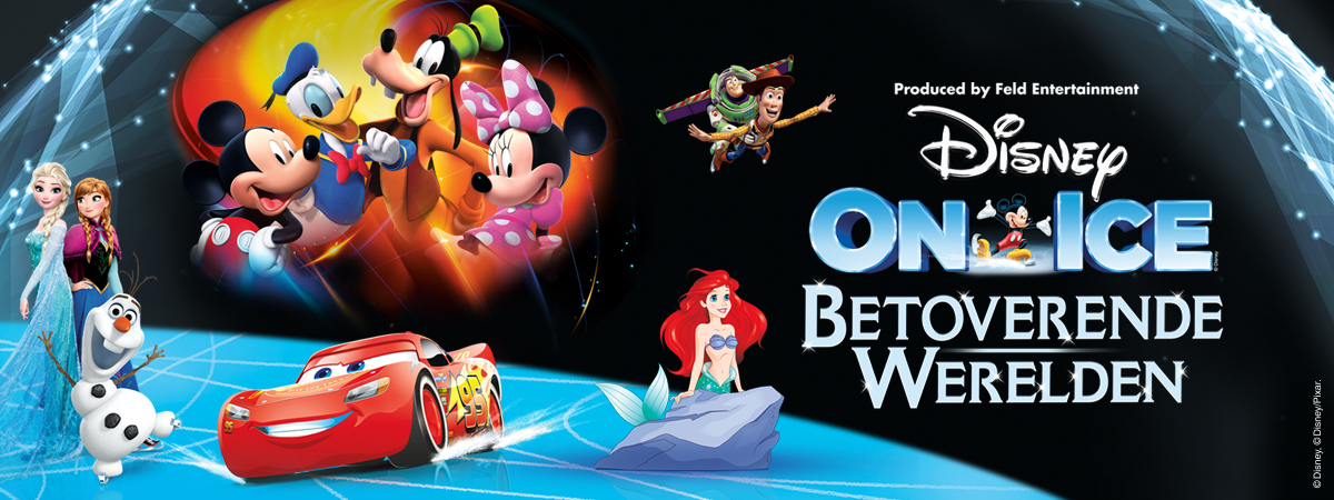 Disney on ice betoverende wereld