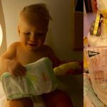 Luiers van Zwitsal zijn geboren. Ideaal voor het tere baby huidje & smashing luiertaart