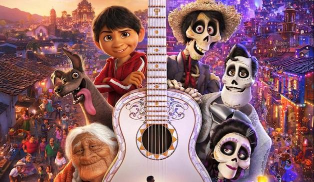 """De dood op een luchtige manier weergegeven in """"Coco"""" van Disney-Pixar"""