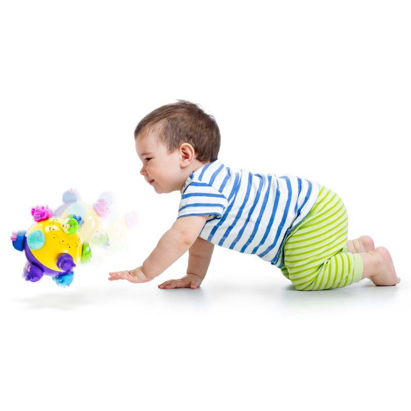 Chuckle Ball: een stuiterende en springende speelbal voor giechelende peuters