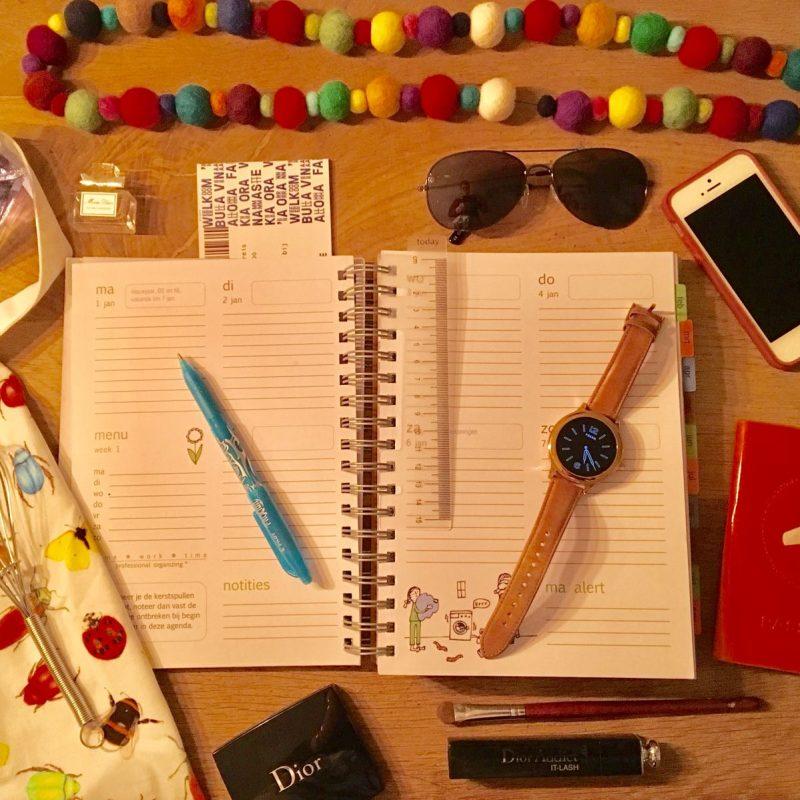 Homeworktime familie-agenda 2018: een uitkomst voor ons drukke gezin