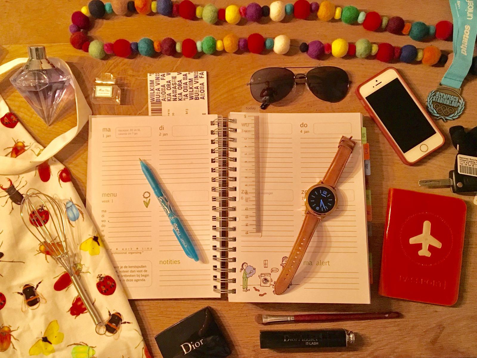 blog, werkplezier fossil q homeworktime Familie Agenda