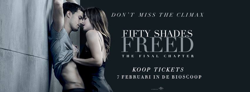 Fifty Shades Freed Trailer allert en uittip om naar de Ladies Night te gaan