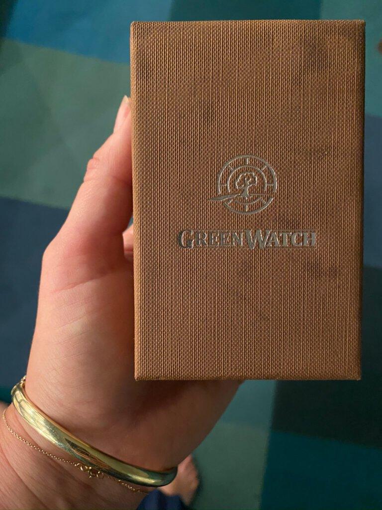 horloge, greenwatch, hout