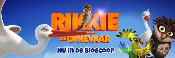 Rikkie de ooievaar nu in de bioscoop! Screening in de Julianatoren