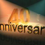 40 jubileum tradities