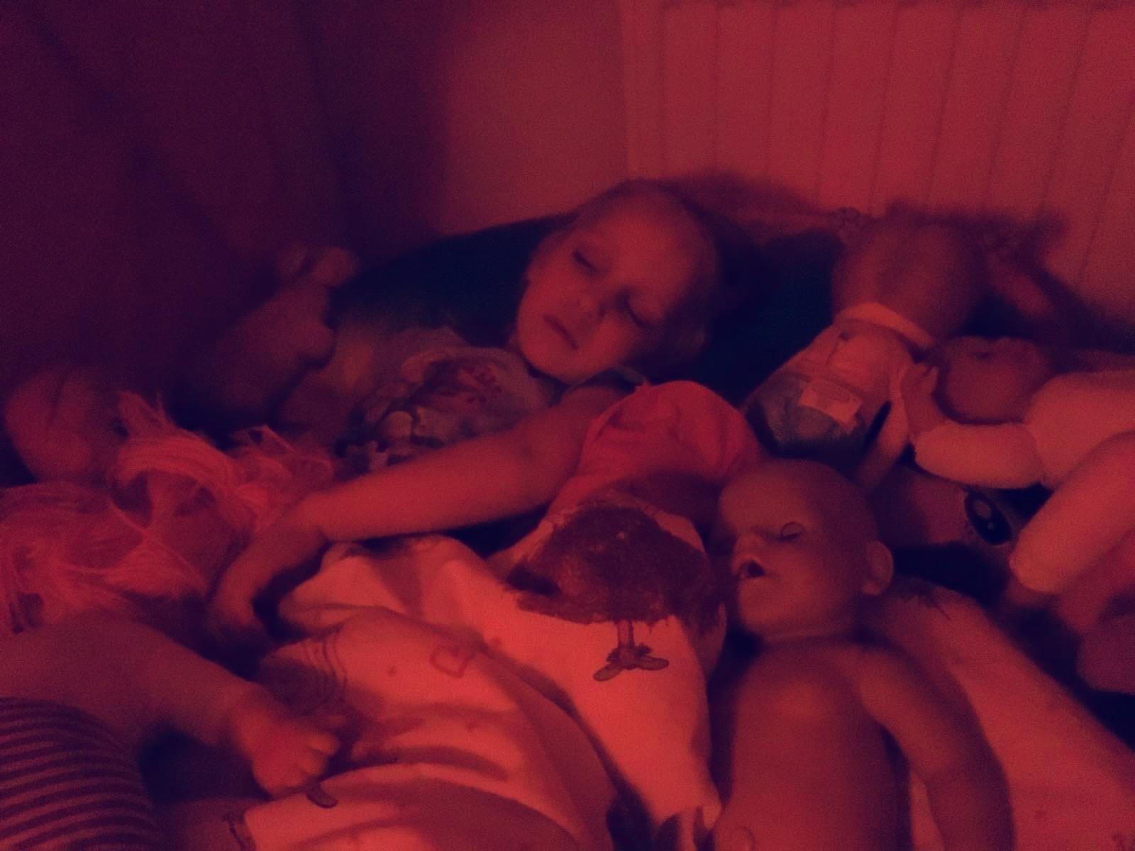 Baby bjorn Sweet dreams met poppen