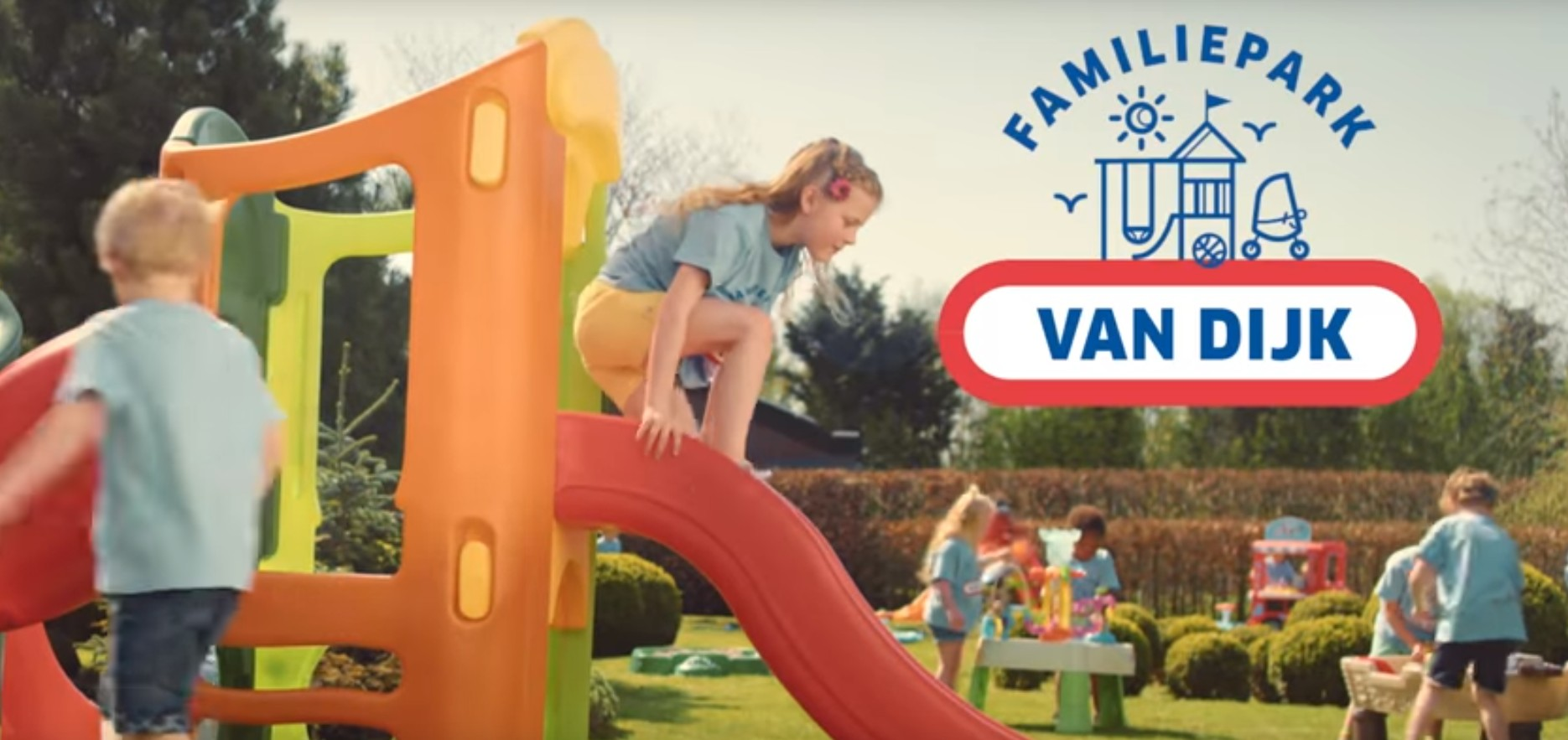 waterpret familiepark Olivette met Little Tikes