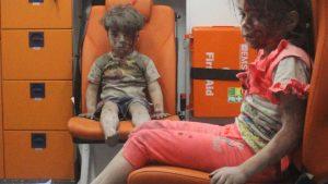 vrijheid oorlog syrian boy