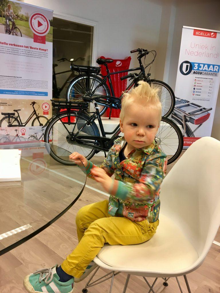 Stella fietsen, fietszitje