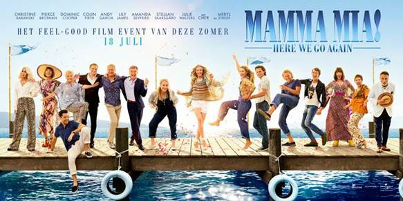 Mamma Mia Here We Go Again!! Dance, jive, and have the time of your life! ☀ Bekijk snel de Final trailer van de muzikale film