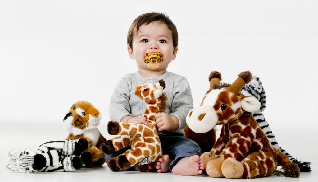 Internationale Dag van de Giraffe, spelen, knuffels