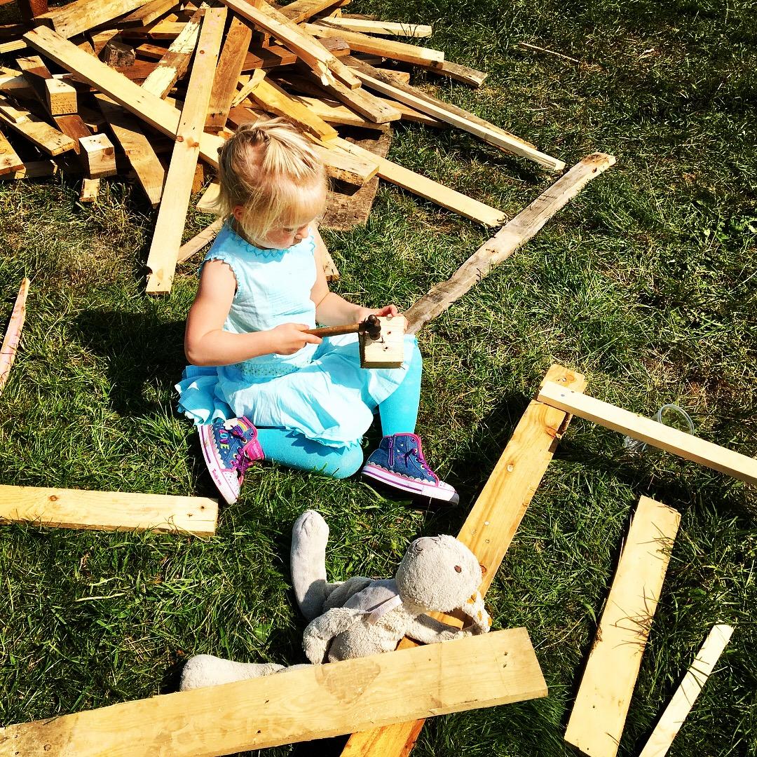 buiten creativiteit van je kinderen risico's