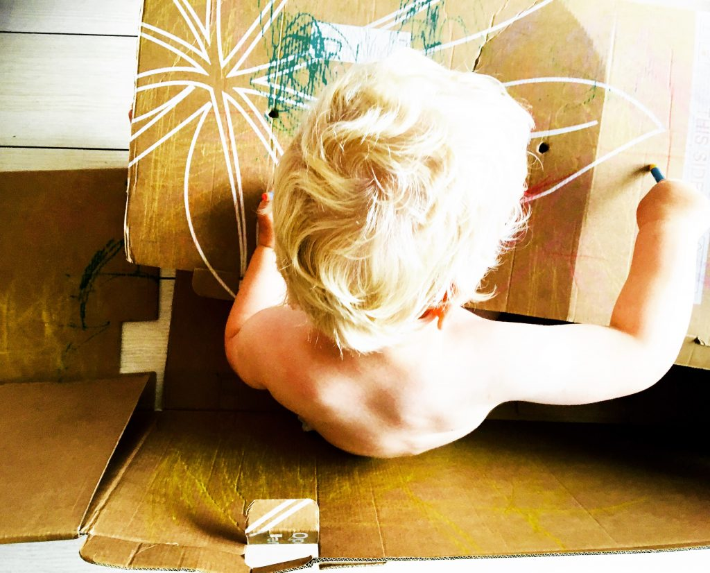 creativiteit van je kinderen, fantasiewereld