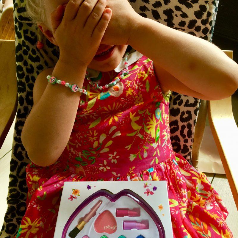 Kinder make-up : Tranen van geluk, bij mijn kleine meisje