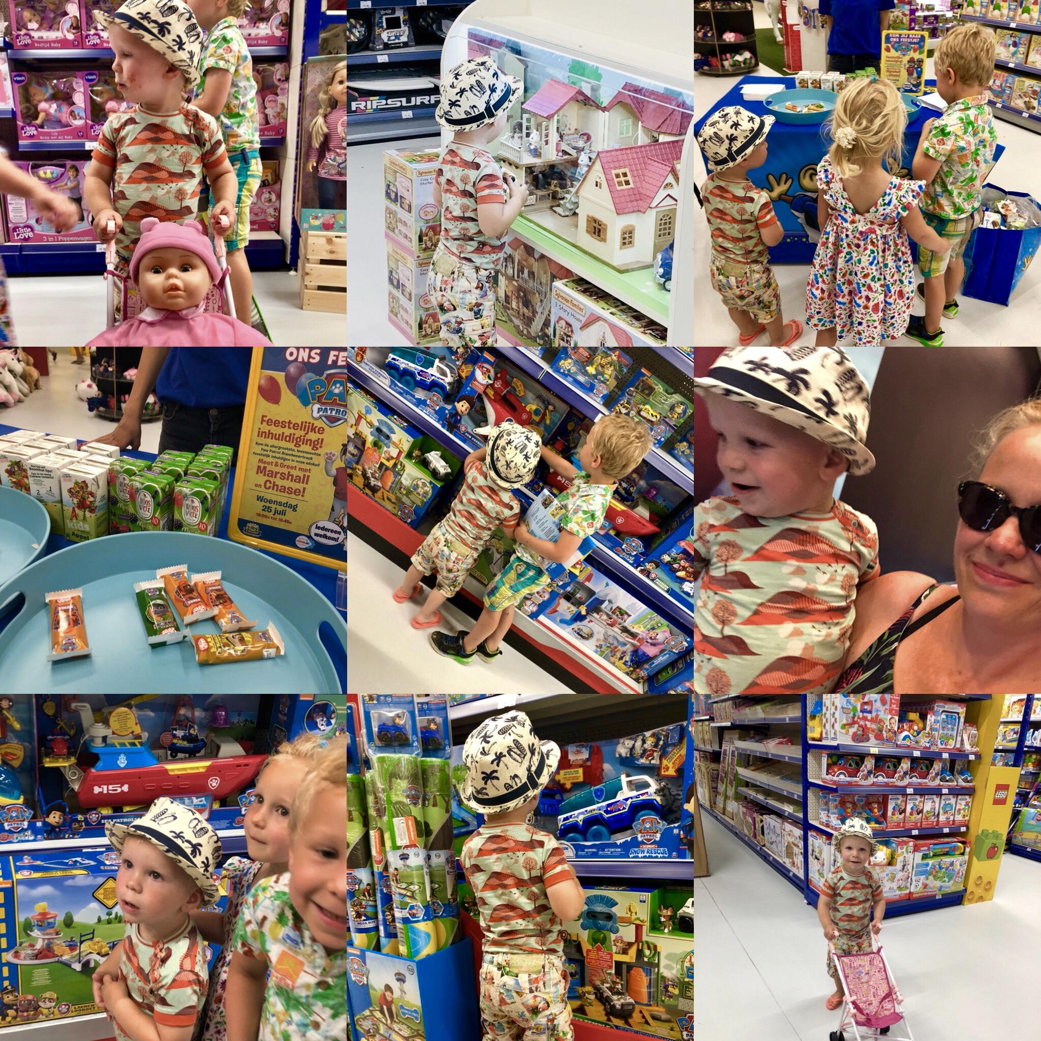 goed speelgoed, Toychamp Amersfoort PAW Patrol schap