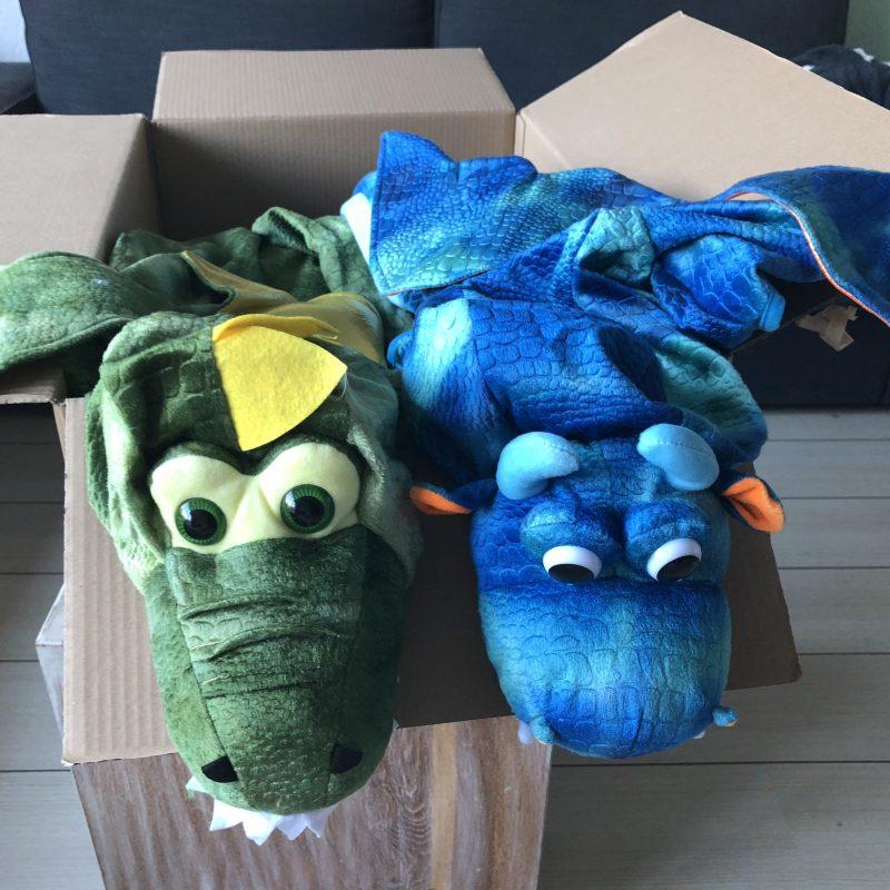 """Verkleedkleding voor de kinderen voor het themafeest """"Dragons & Unicorns"""" Niet compleet zonder toffe outfit"""