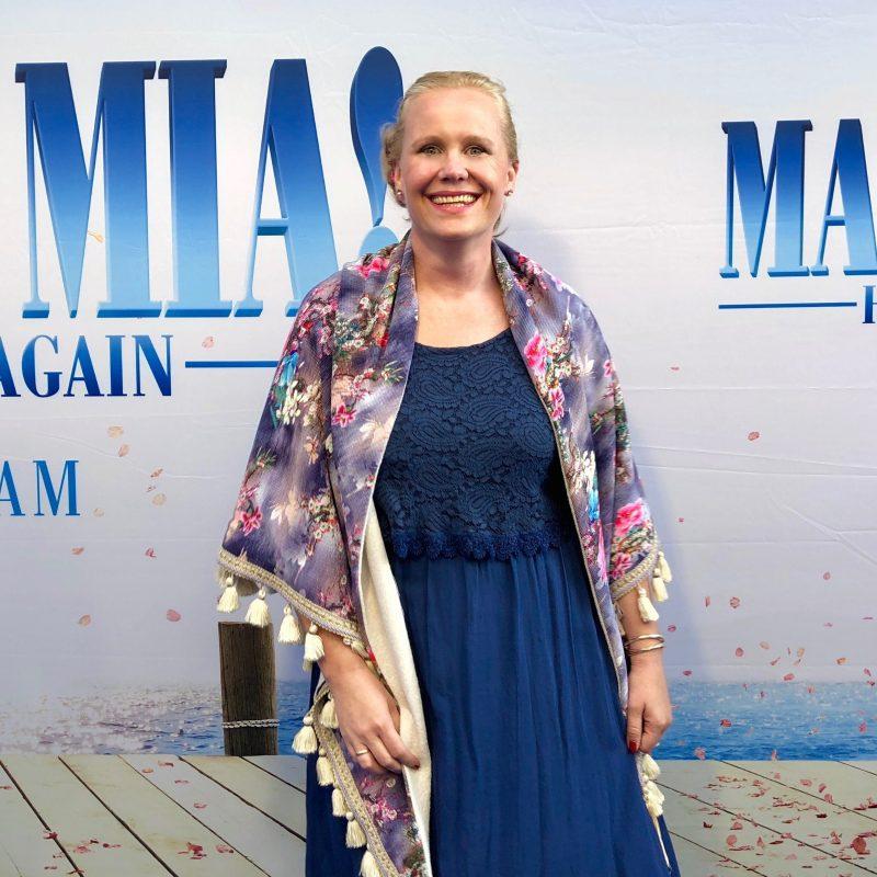 We keren terug naar Kalokairi tijdens de Nederlandse PremiereMAMMA MIA! HERE WE GO AGAIN!